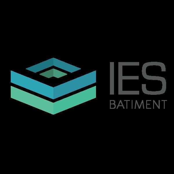 création logo IES Batiment